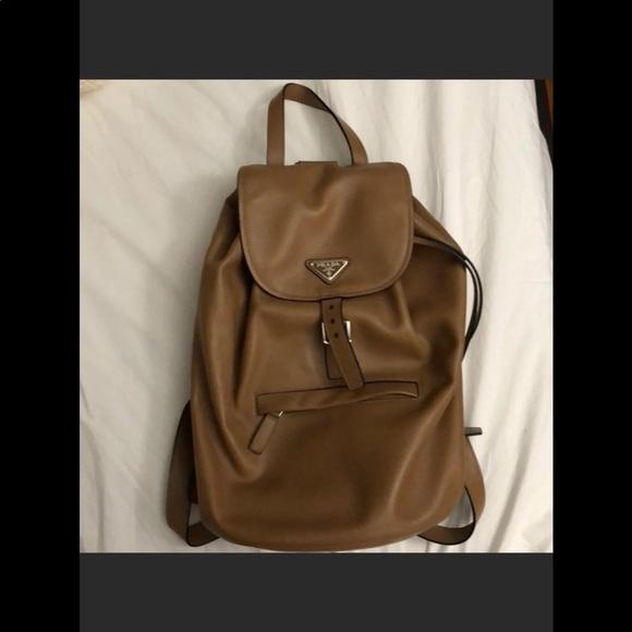 1daa7dc4181b Prada Bags | Soft Calf Leather Backpack | Poshmark